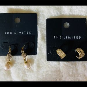 NWT Set of 2 The Limited Wear To Work Earrings